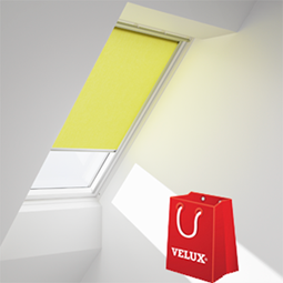 Finestre con apertura a bilico velux vista libera for Offerte tende velux