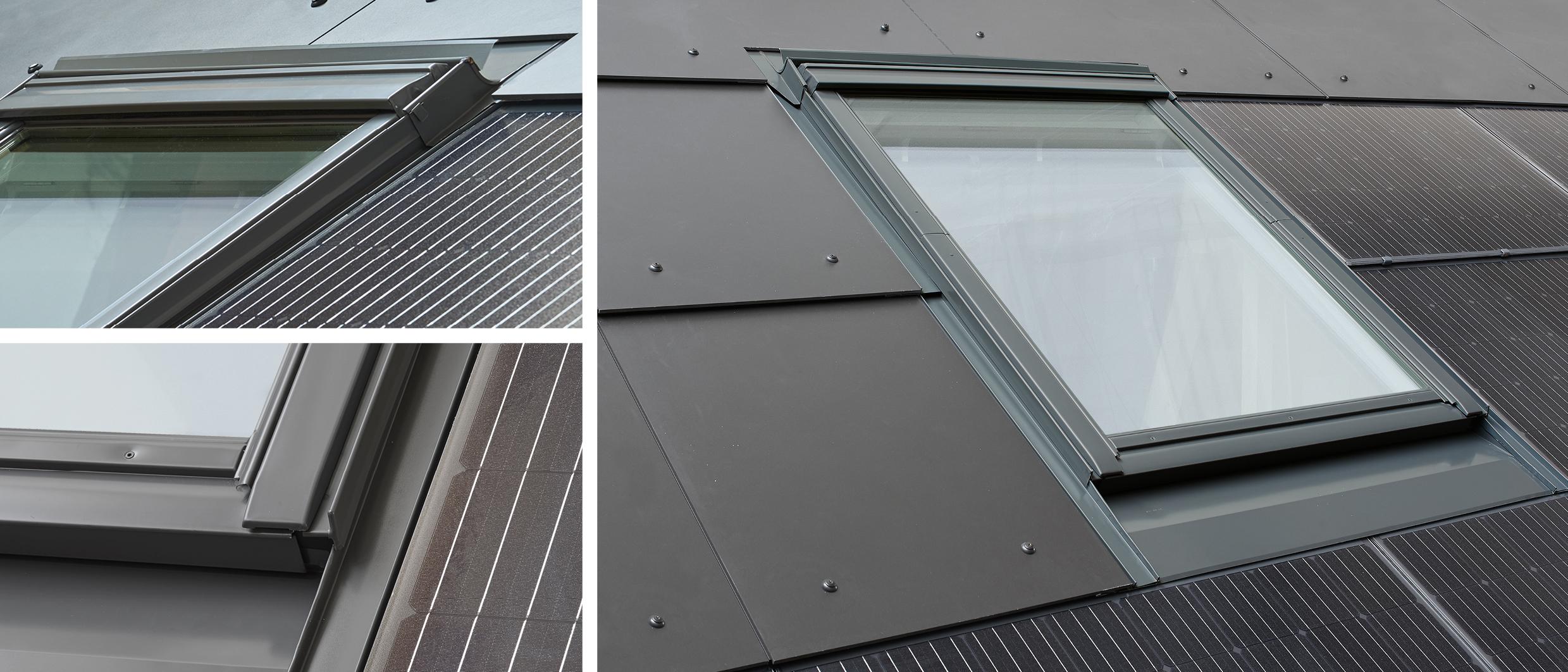 Impianti fotovoltaici soluzioni flessibili per finestre for Montaggio velux
