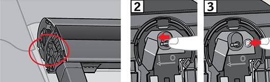 3) Appuyer sur la touche P pendant au moins 10 secondes