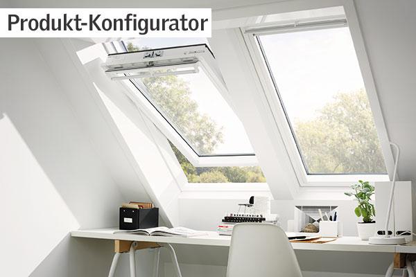 home office mit dachfenster ideen bilder, velux dachfenster, flachdachfenster, tageslichtspots, rollläden, rollos, Design ideen