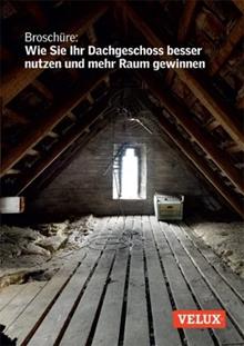 Broschüre Dachgeschoss