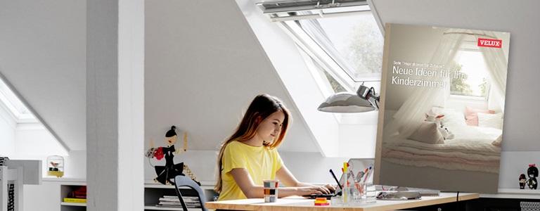 Kinderzimmer Renovieren Mit Velux Dachfenstern