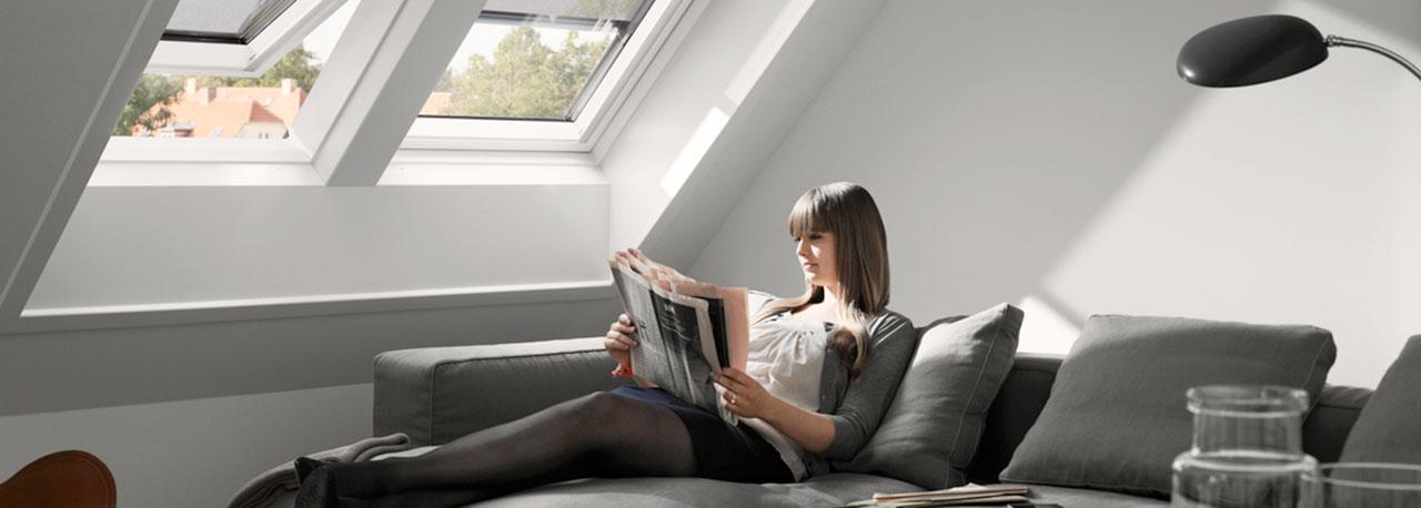 Soluzioni velux per la sostituzione dei lucernari for Velux shop finestre