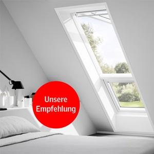 VELUX Zusatzelemente Dachschräge Schlafzimmer