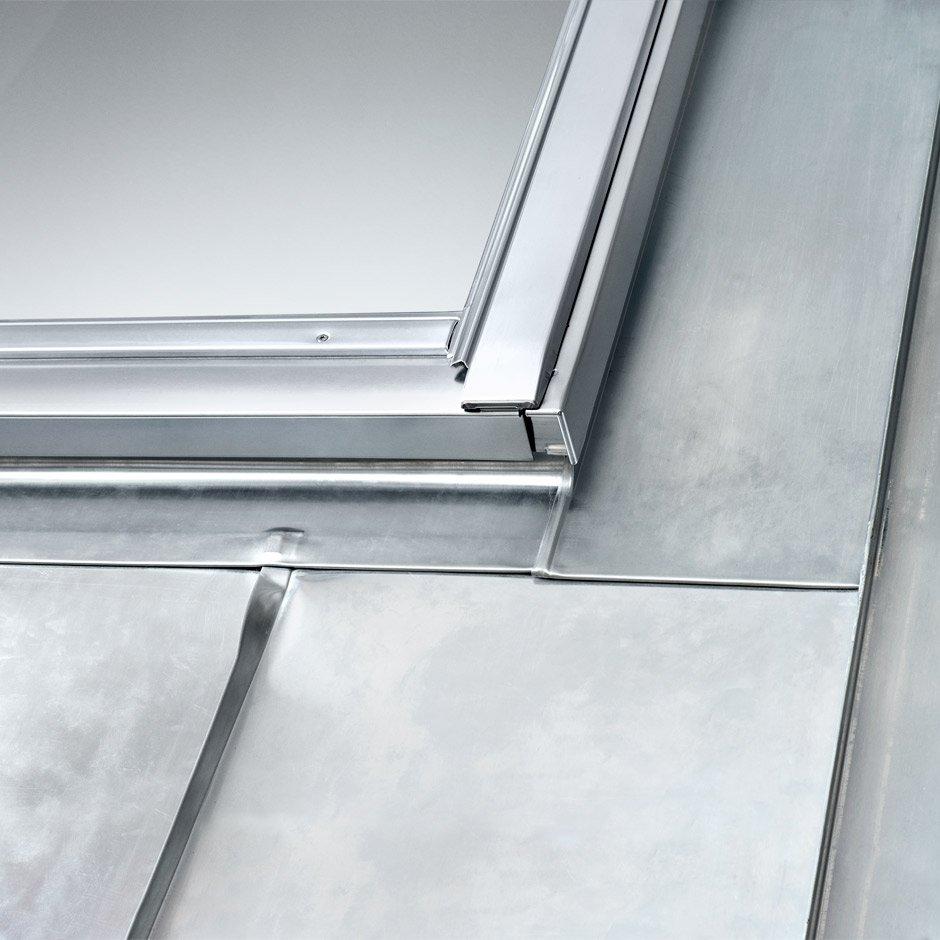 Abdichtung von dachfenstern mit eindeckrahmen velux - Dachfenster bilder ...