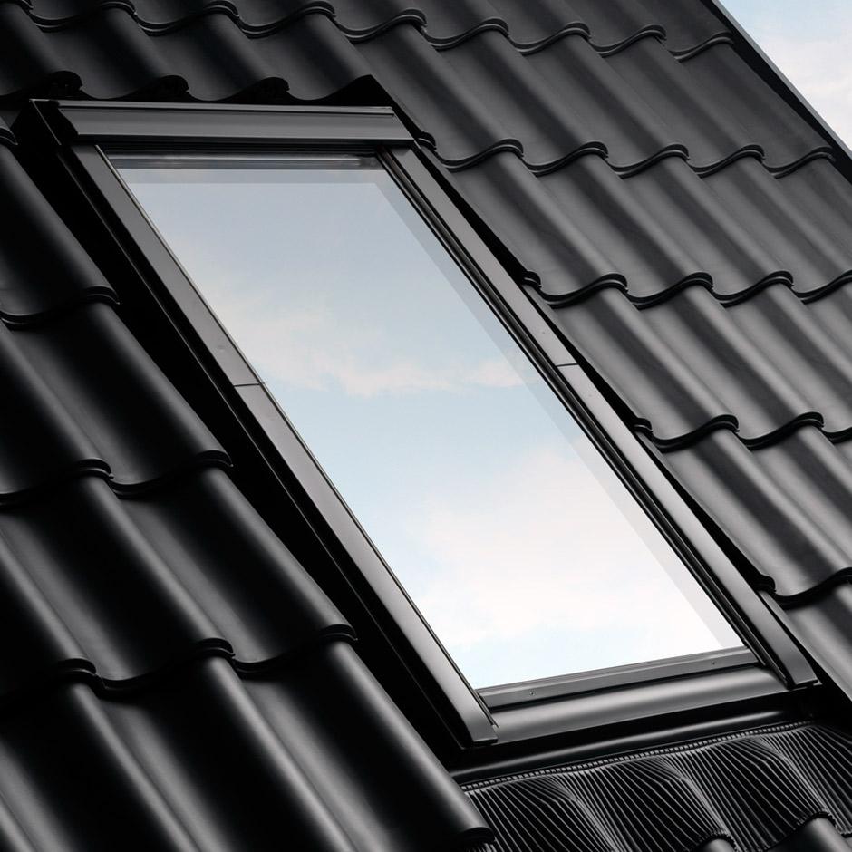 velux fachkunden eindeckrahmen f r dachfenster. Black Bedroom Furniture Sets. Home Design Ideas