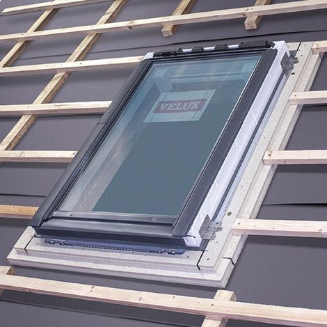Favorit Dachfensterrahmen für leichte Montage | VELUX FH43