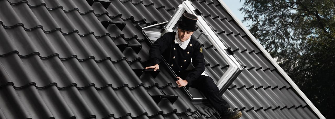 Velux Rettungsfenster velux wohn und ausstiegsfenster mit türfunktion gxu gxl