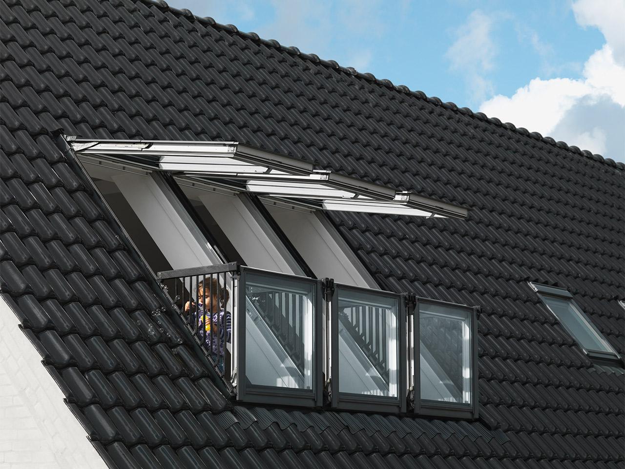 velux cabrio™ | vom dachfenster zum dachaustritt