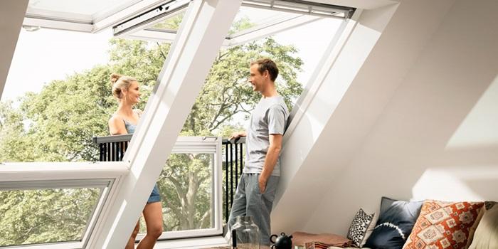 dachfenster balkon cabrio interieur, velux dachbalkon (dachloggia) | raum für wohnideen, Design ideen