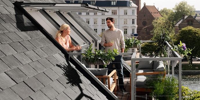 Balconata VELUX – Il balcone per più spazio