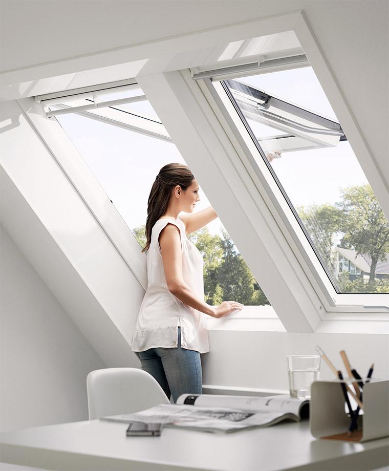 Hervorragend VELUX Klappschwingfenster Für Das Dach   Einfache Bedienung Und Großartiger  Ausblick