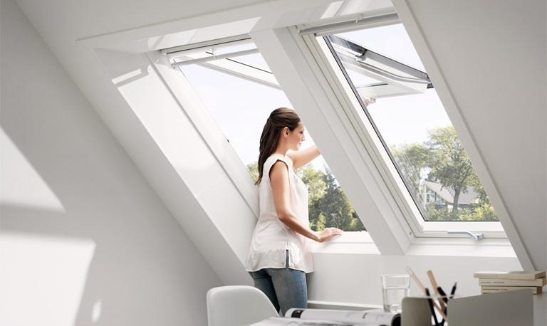 Bevorzugt VELUX DUO | Zwei Dachfenster nebeneinander IL09