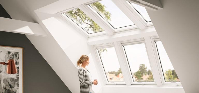 Panorama Dachfenster Velux