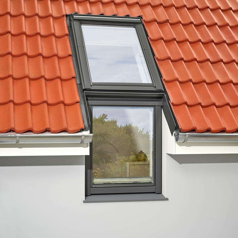 Relativ VELUX LICHTBAND FASSADE | Die Fensterverlängerung für die Fassade RW88