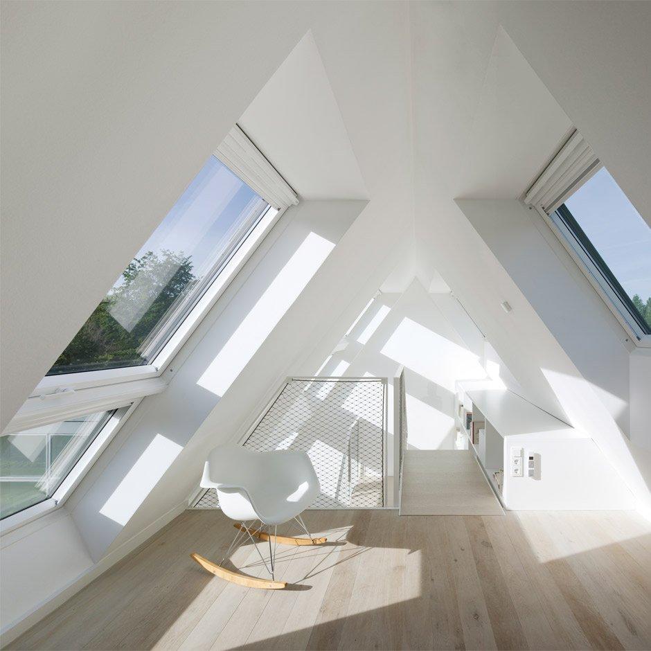 Velux Lichtband Bodentiefe Dachfenster