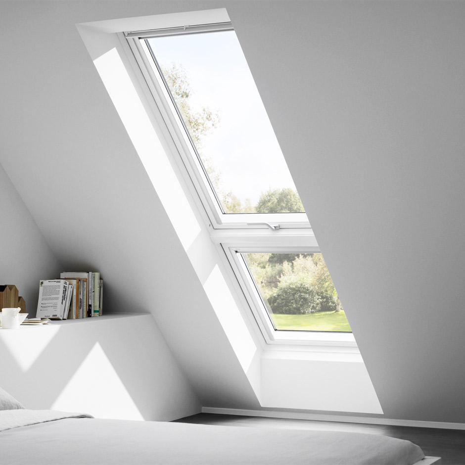 Dachausbau ideen f r kinderzimmer velux dachfenster - Velux dachfenster einstellen ...