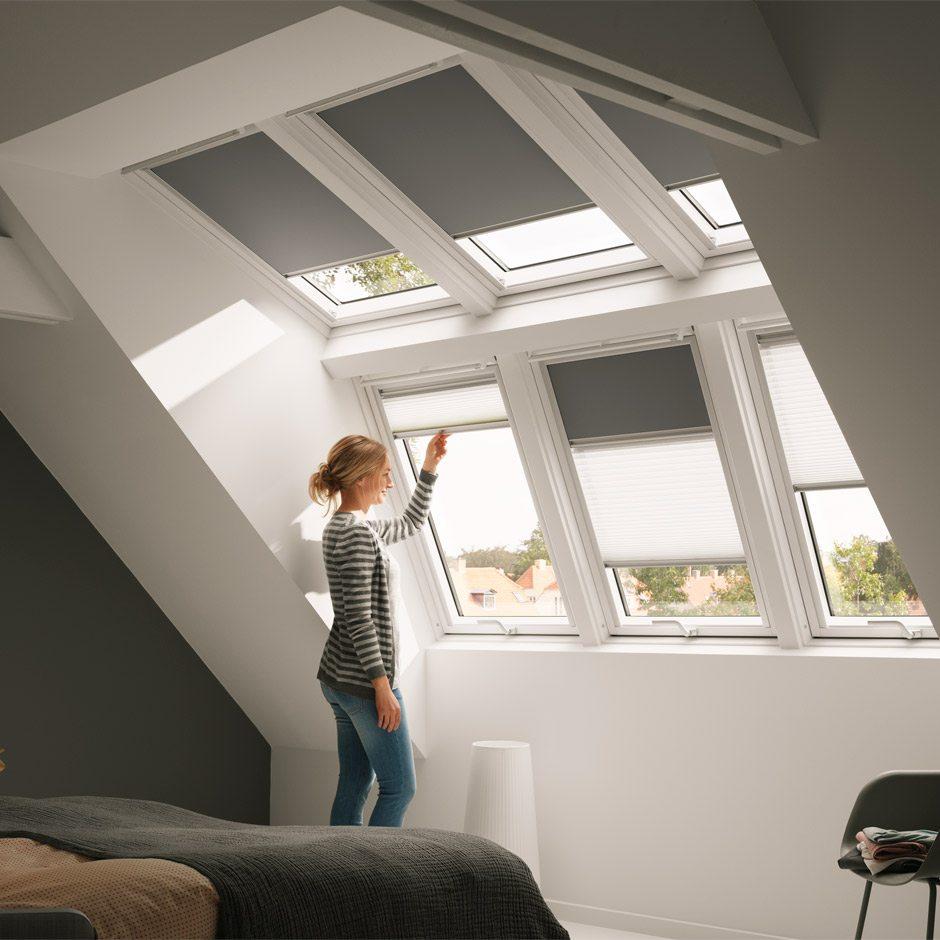 Velux Dachfenster Rollos Gnstig. Awesome Gnstige Velux Rollos U Fr ...