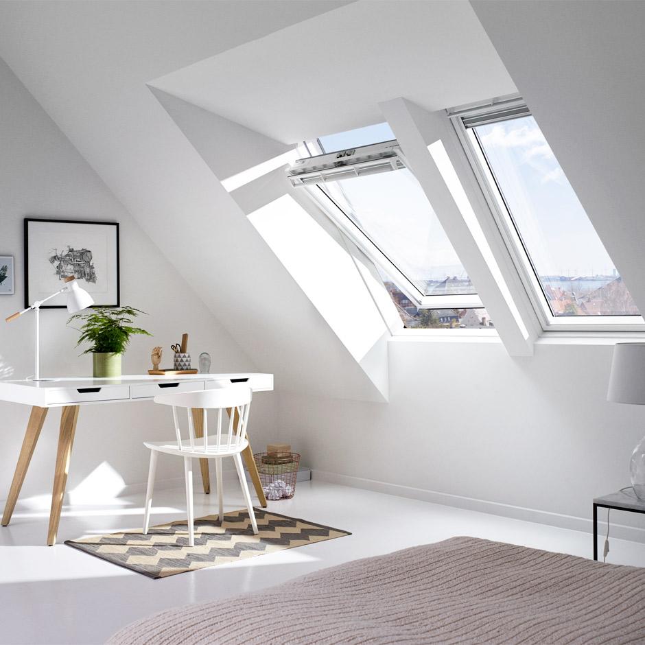 velux aufkeilrahmen f r steild cher mehr raum licht luft ausblick unterm dach. Black Bedroom Furniture Sets. Home Design Ideas
