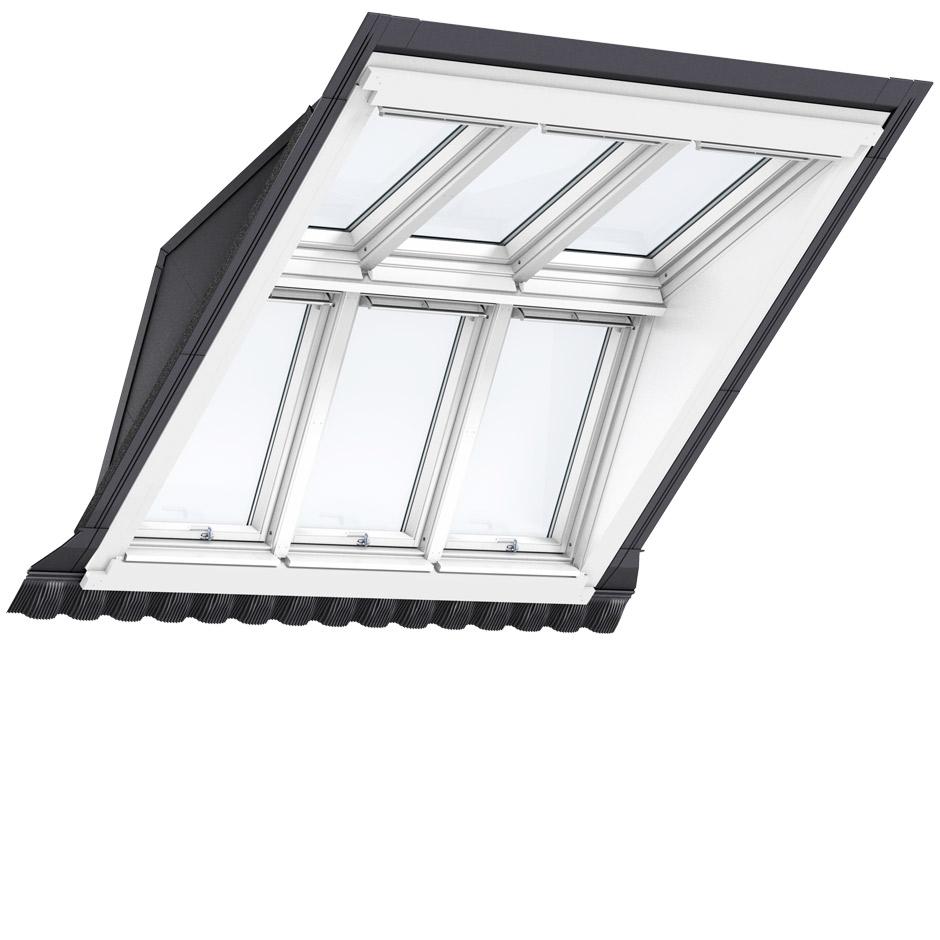 Velux panorama licht luft ausblick unterm dach - Velux dachfenster einbauanleitung ...