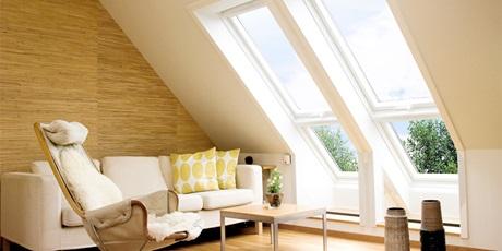 Fenster Dachschräge velux zusatz für dachfenster lichtfläche verlängern
