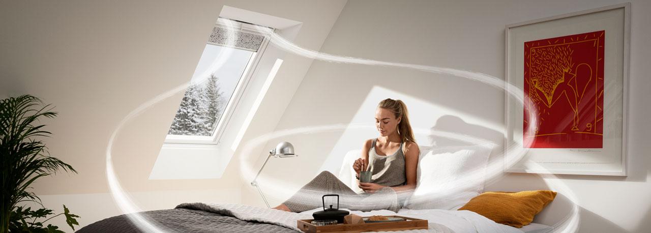 velux dachfenster l ftung frischluft l ftungsl sungen. Black Bedroom Furniture Sets. Home Design Ideas