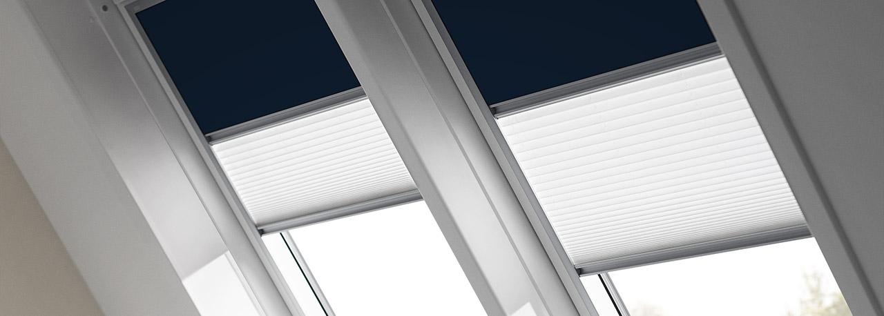 Plissee Rollo Fr Velux Dachfenster. Velux Rollo Plissee Duo System ...