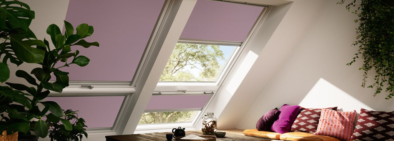 Verdunkelnde Rollos velux dachfenster verdunkelungsrollos erholsamer schlaf