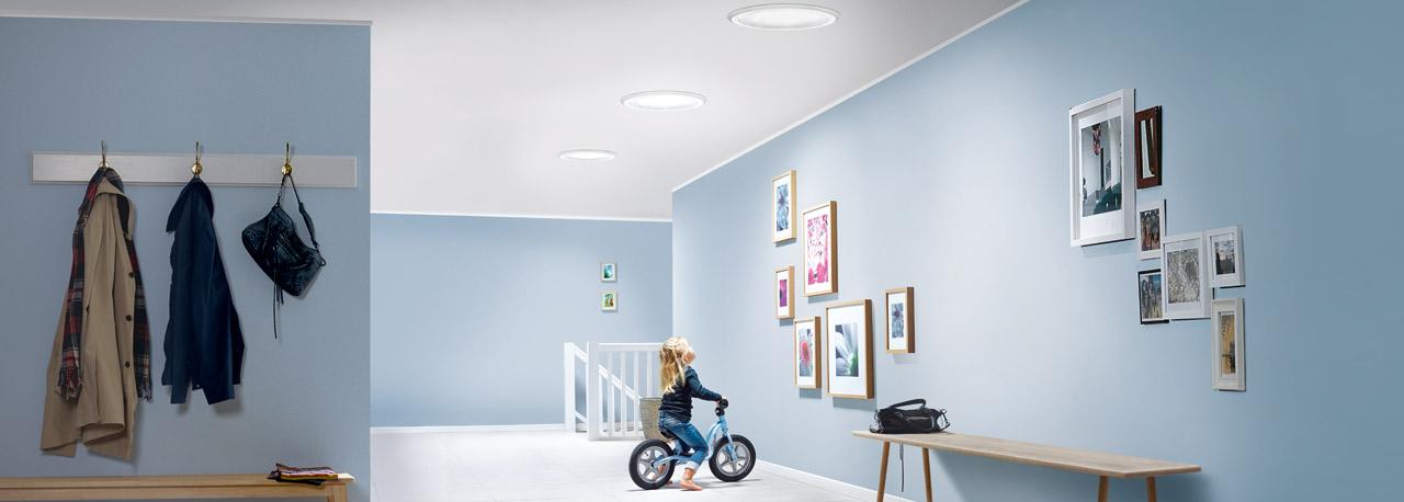 Tageslicht-Spot: die Tageslichtlampe von VELUX