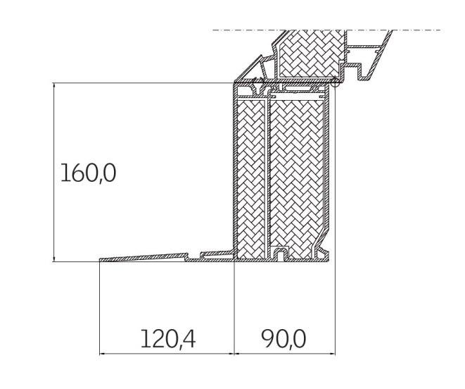 Dettagli tecnici finestra per tetti piani velux per l for Tabella misure velux