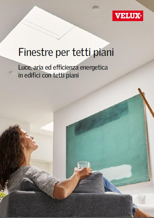 Soluzioni per tetti piani velux for Finestre velux per tetti