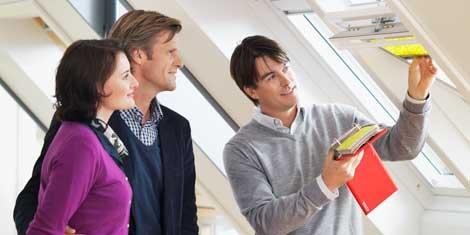Soluzioni per tetti piani velux for Velux rivenditori