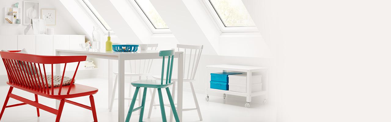 Finestre per mansarda finestre per tetti velux for Tende per finestre sottotetto