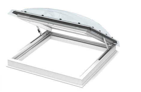 Dachfenster detail flachdach  VELUX Flachdach-Fenster (Lichtkuppel) - Licht und frische Luft ...