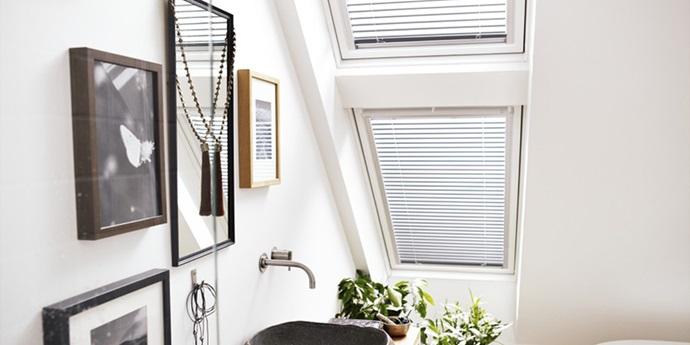 Ongekend Wooninspiratie - Daglicht en frisse lucht in uw badkamer GA-84