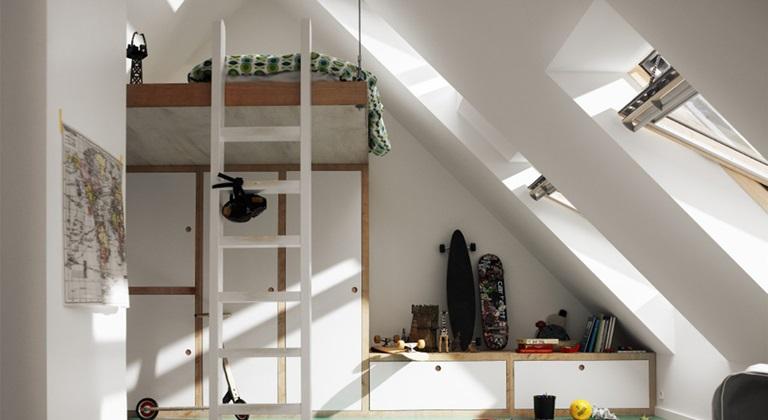 370d857b6567 Nápady pre detskú izbu – Maximalizovanie vášho priestoru.