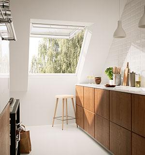 Dachausbau Ideen Fur Die Kuche Velux Dachfenster