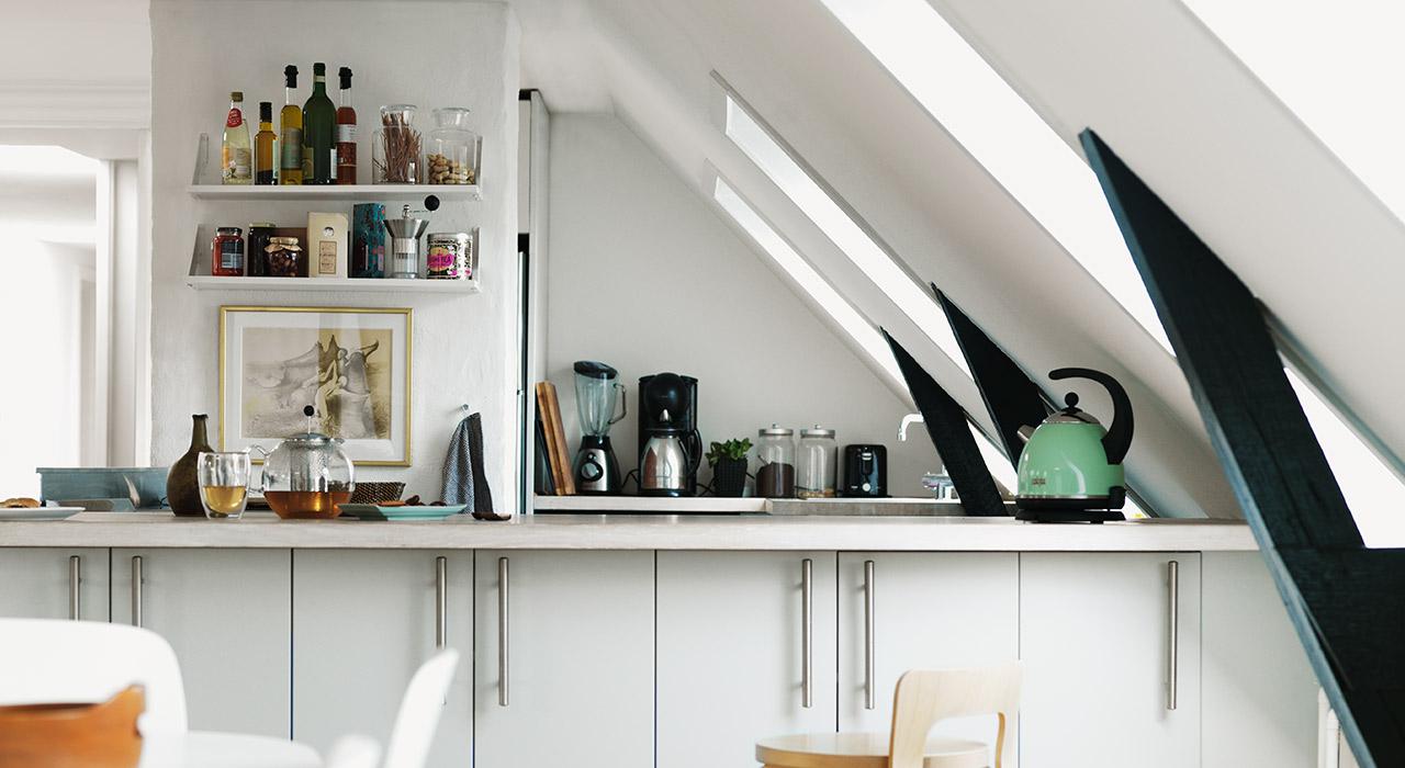Idee per la cucina con le finestre per tetti velux - Idee per la cucina ...