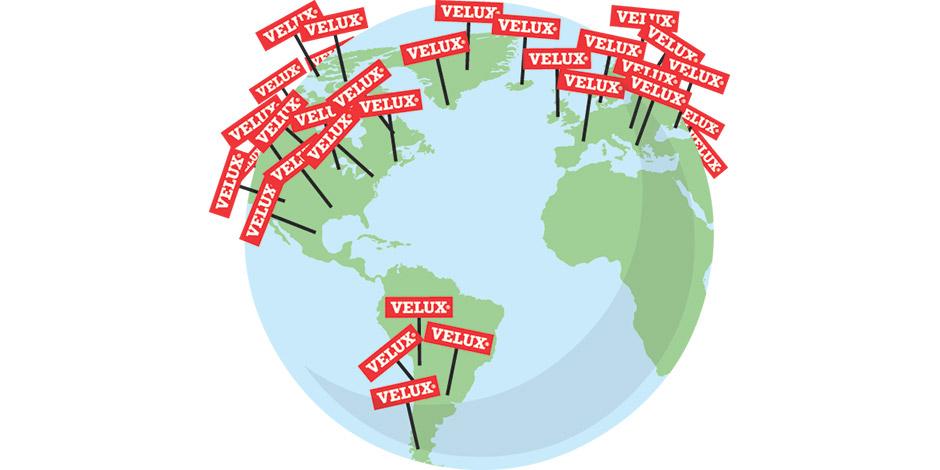 Velux italia e il gruppo velux for Velux rivenditori