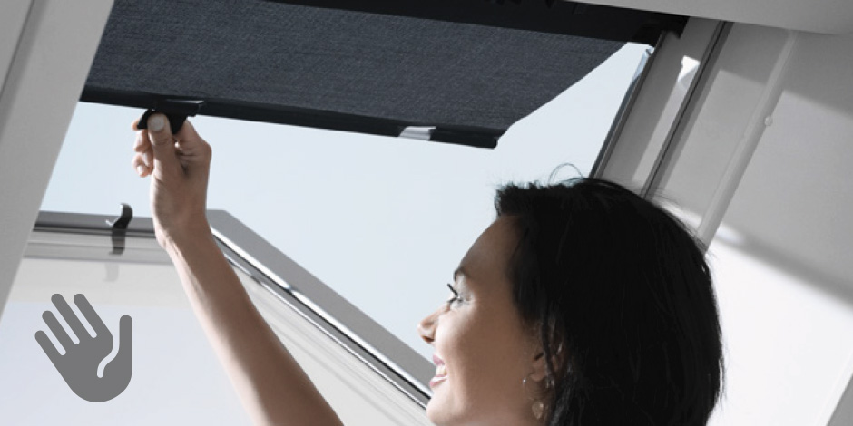 Manual Operation With Hooks. The VELUX Awning Blind ...
