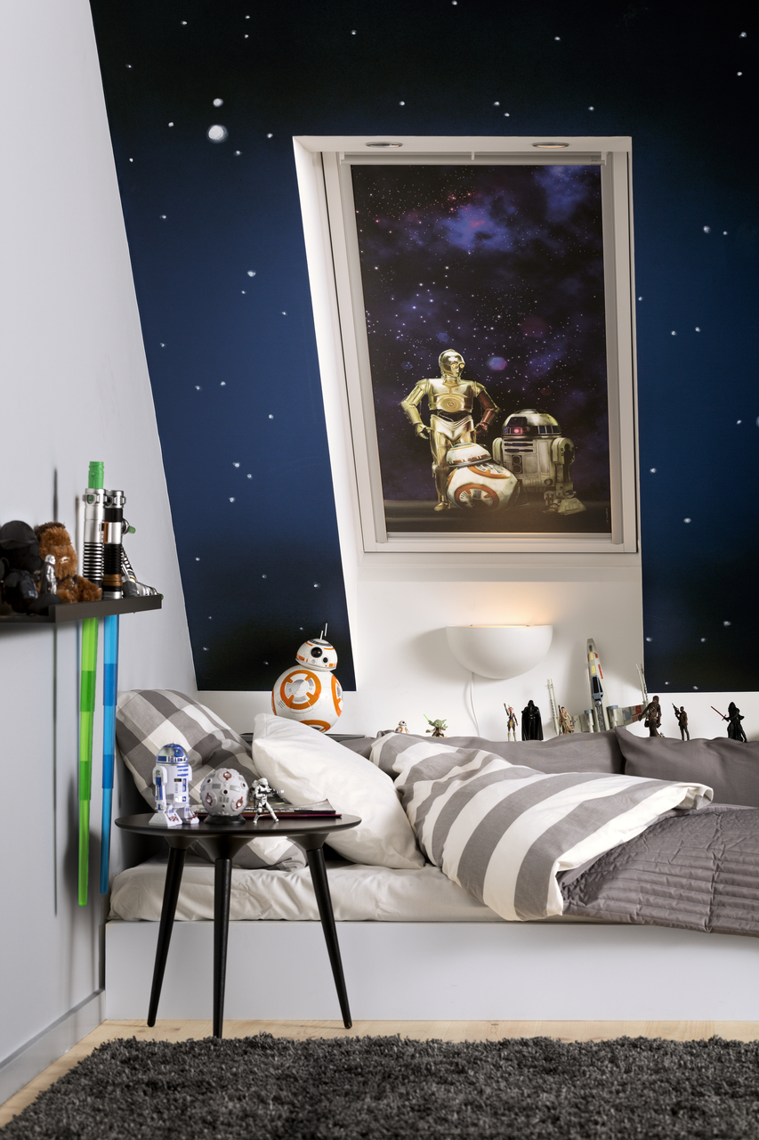 Velux Star Wars And Galactic Night Roof Window Blinds