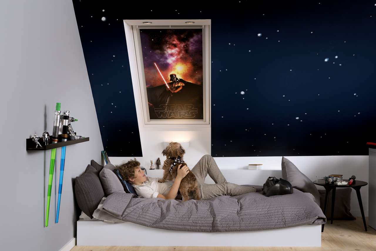 Star Wars Amp Velux Galactic Night Collection Blackout