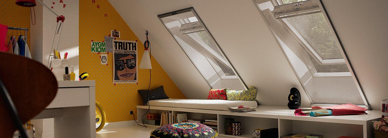 insektenschutz mit velux produkten. Black Bedroom Furniture Sets. Home Design Ideas