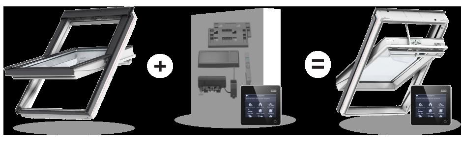 Velux integra finestre e accessori elettrici e solari for Installatori velux