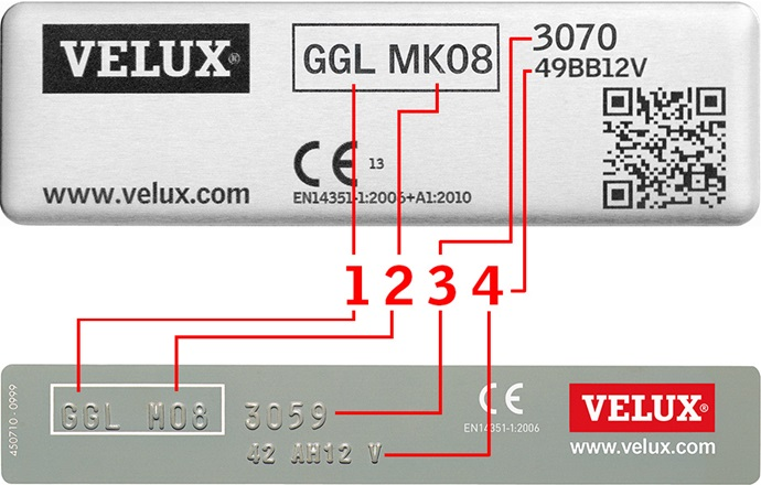 Scheda Tecnica Velux Ggl.Comando E Manutenzione Di Finestre Per Tetti Velux