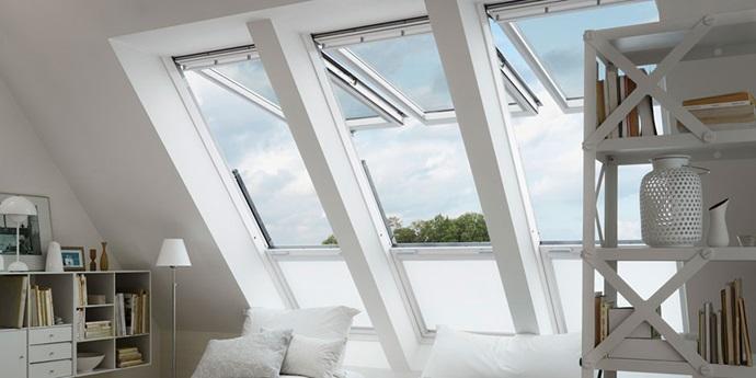 Velux Cabrio Balcony Windows