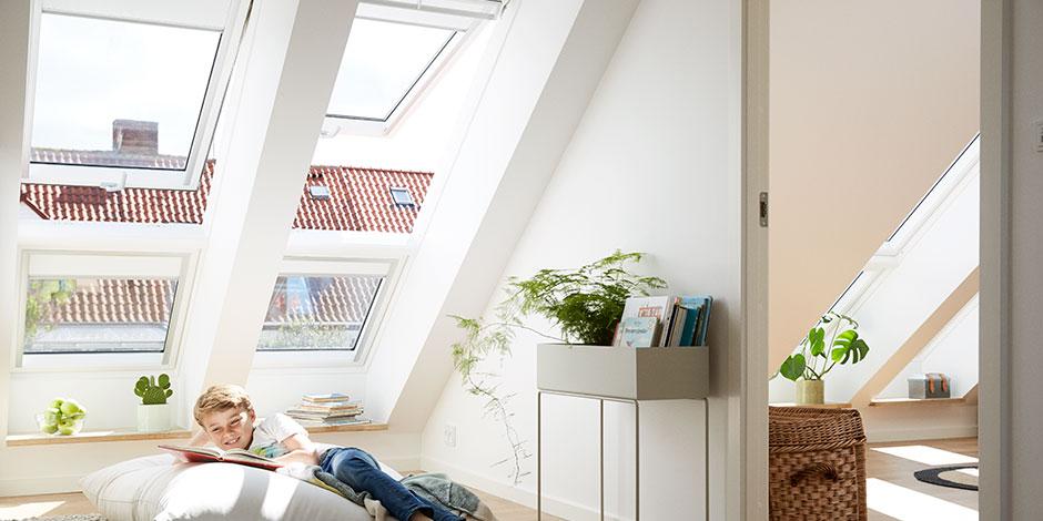 Finestre per tetti velux integra programmabili e for Finestre x tetti