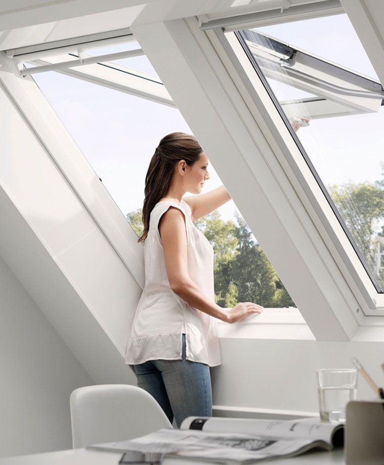 VELUX roof windows - top-hung roof windows