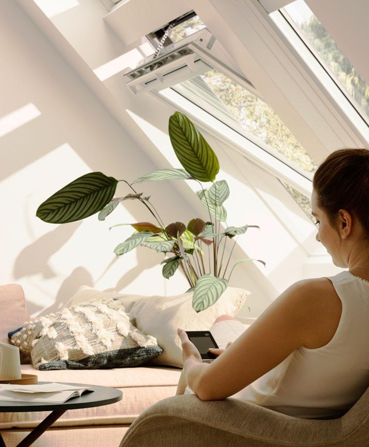 Entzuckend Optimales Raumklima Und Mehr Wohnkomfort Per Knopfdruck Via VELUX ACTIVE  With NETATMO