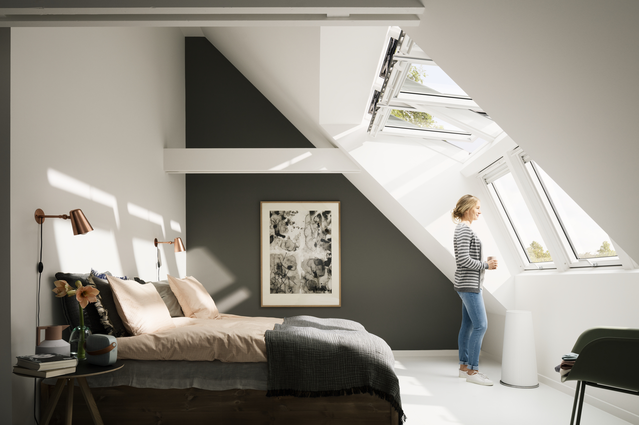 Velux Integra 174 Roof Windows Remote Controlled And